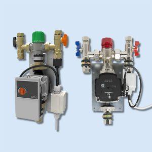 UFH Single Zone, Single Circuit Pump Control Packs
